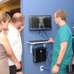 We can show you x-ray images immediately.